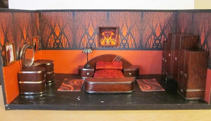 Gallery For 1940s Art Deco Bedroom Furniture