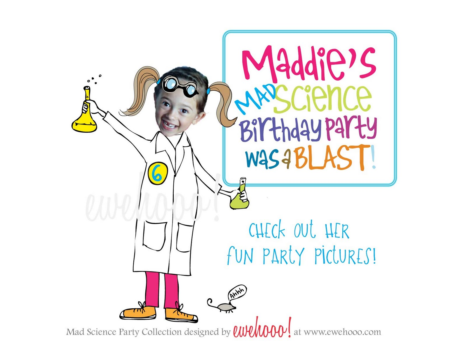 ewe hooo!: Maddie\'s Mad Science Birthday Party— Customer Feature