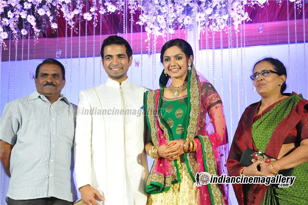 Samvritha Sunil Marriage Reception Album Traffic Club