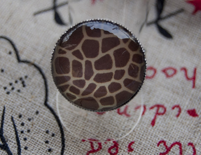 Panic Handmade design Estampado jirafa