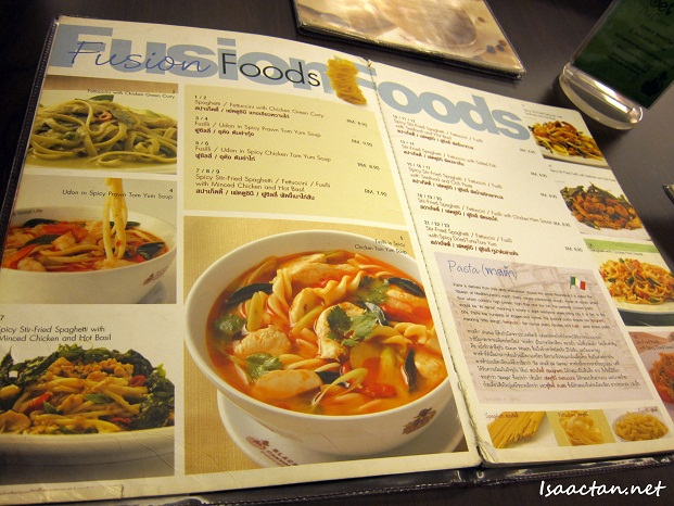 Black Canyon Restaurant Menu