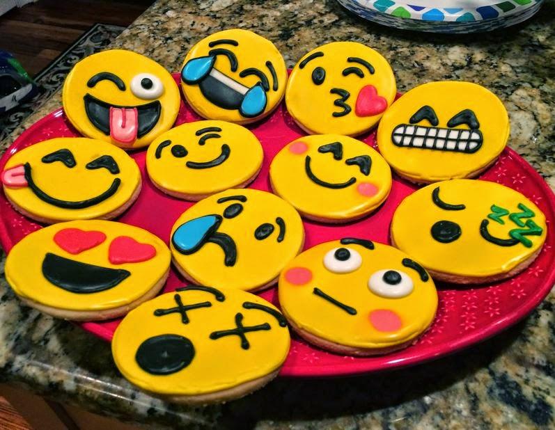 Resep Membuat Kue Kering Karakter Emoticon Mudah