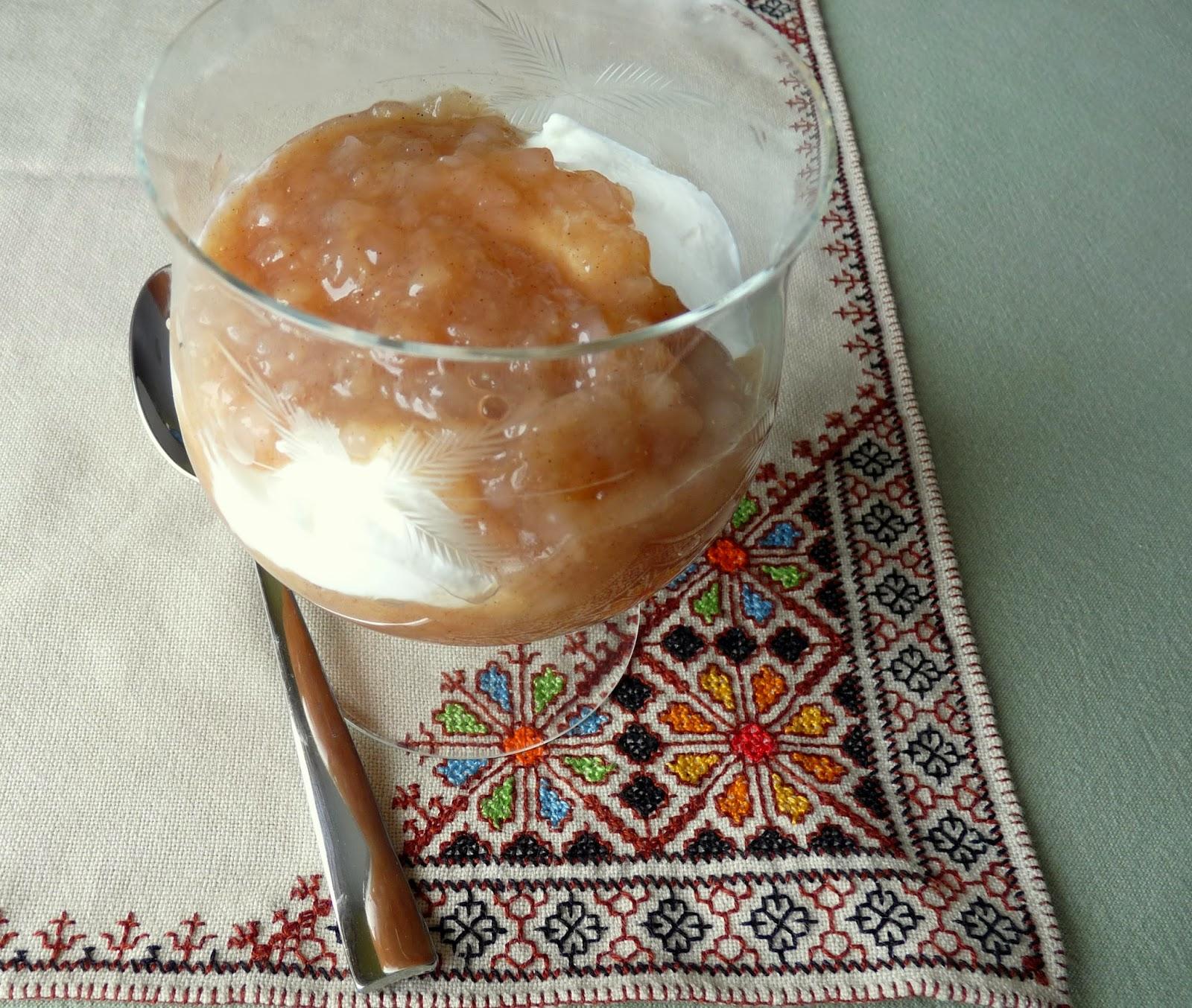 Apple Tapioca Pudding