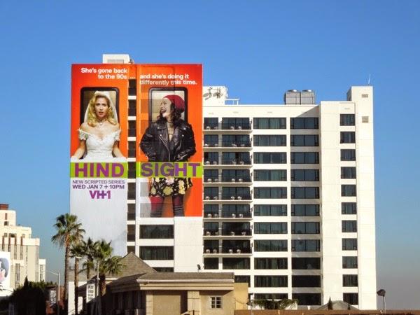 Hindsight VH-1 series premiere billboard