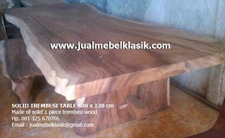 Supplier mebel kayu meh jepara supplier furniture kayu trembesi jepara meja meh kayu trembesi jepara
