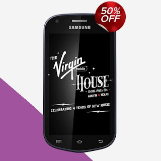 Virgin Mobile Samsung Galaxy Reverb 50% Off Sale
