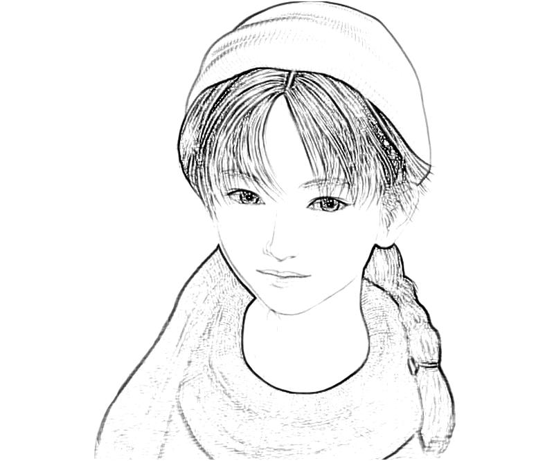shenmue-shenhua-cute-coloring-pages