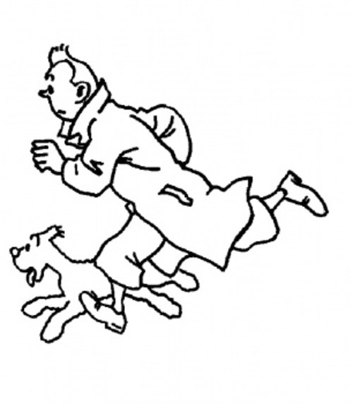 Tintin Coloring Pages Free For Kids Gt Gt Disney Coloring Pages Tintin Coloring Pages