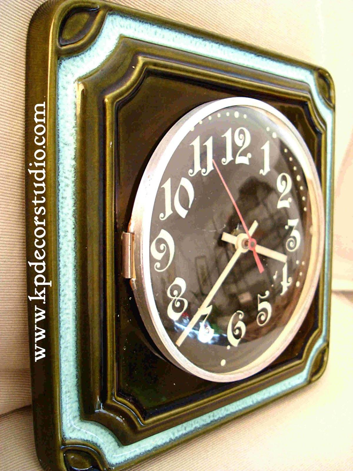 vintage comprar relojes pontina cermicos y antiguos relojes de pared
