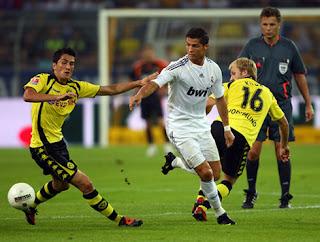 Hasil Dan Cuplikan Gol Pertandingan Real Madrid 2-0 Borussia Dortmund (Liga Champions)