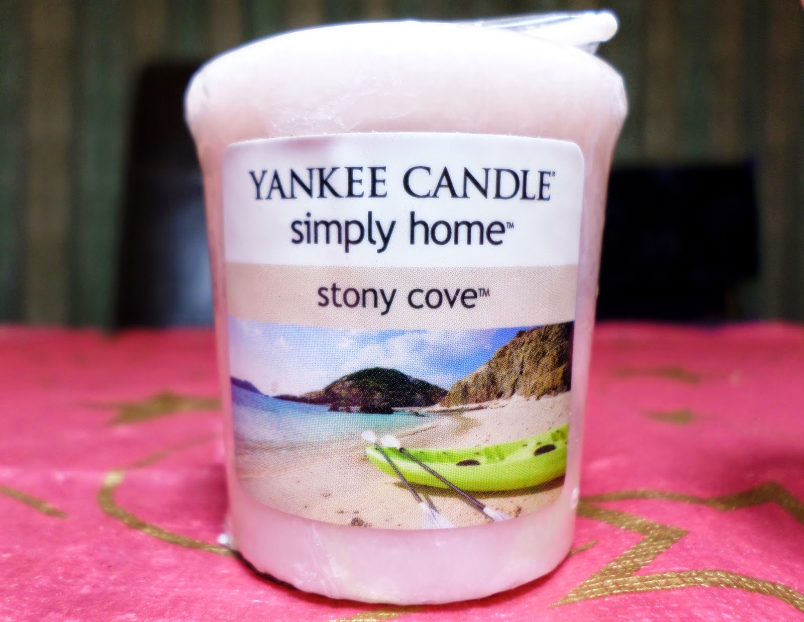 Yankee Candle Simply Home Stony Cove Sampler Votive Review