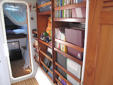Bookshelf Port side