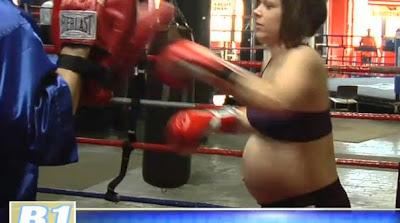 hamile-boksor-resimleri-boks-maçı