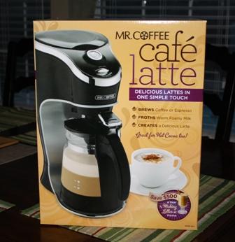 mr coffee latte machine