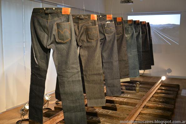 jeans Levi's otoño invierno 2013