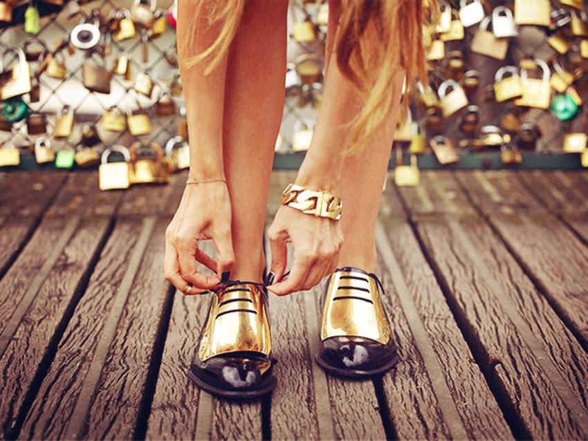 Types of shoes: Oxfords - Tipos de zapatos: Oxfords