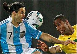 Brasil Argentina superclassico das americas