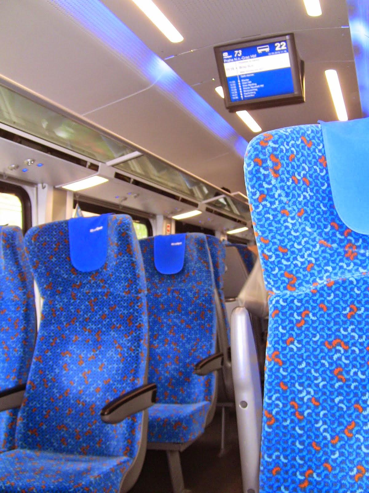 les trains ultra modernes pour aller de Prague à Vienne