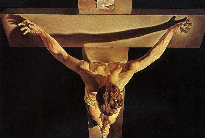Cosas que me gustan Cristo de San Juan de la Cruz  Salvador Dal