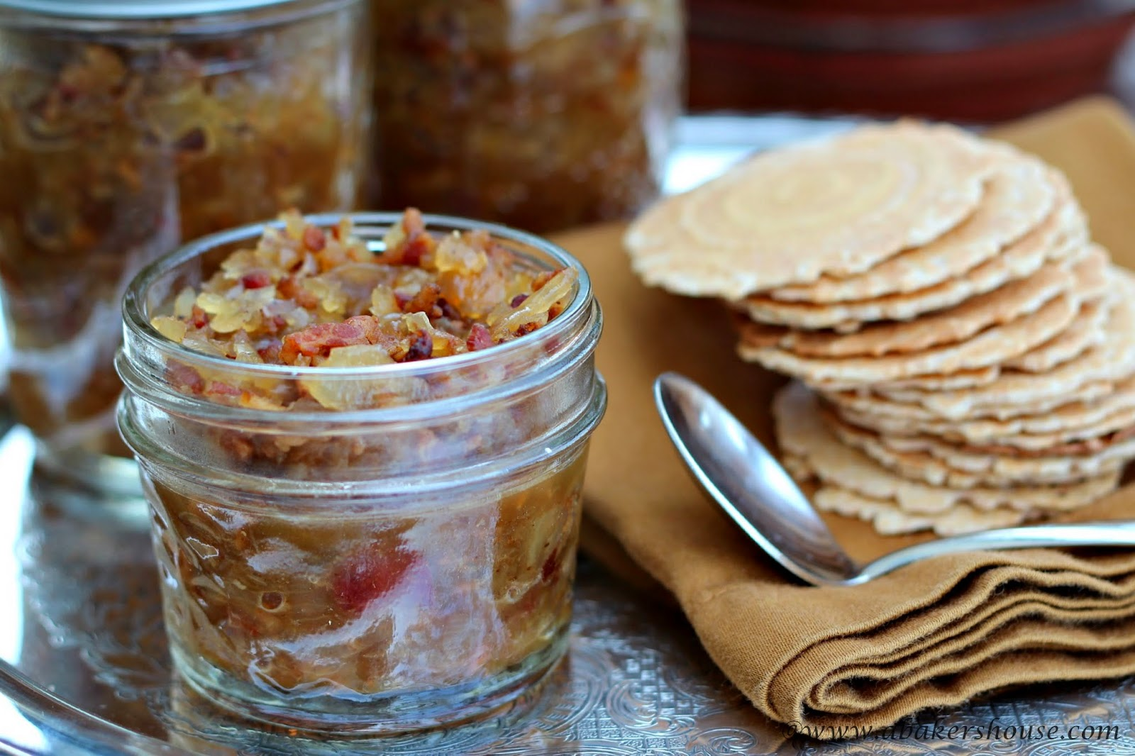 Slow Cooker Onion Bacon Jam
