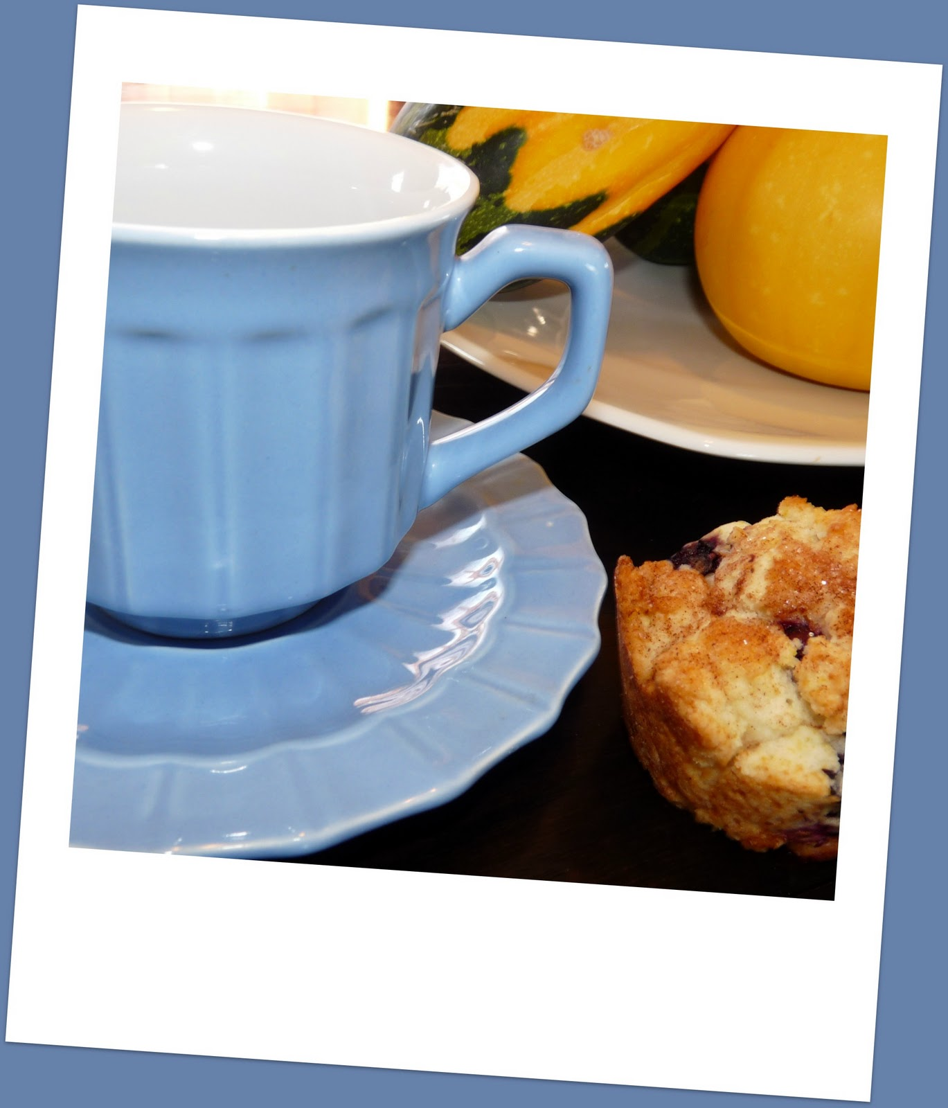Recipes From A Humble Kitchen: Lemon-Blueberry Muffins