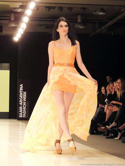 Vestidos verano 2014 Claudio Cosano.