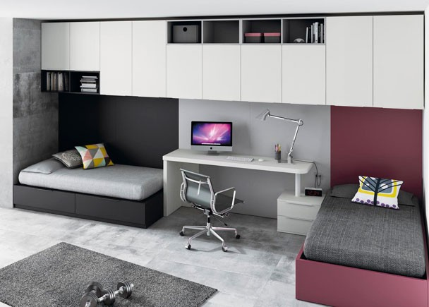 Habitaciones juveniles para adolescentes y jovenes Dormitorios adolescentes