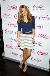 Bella Throne at Candies Holiday and Resort Collection Launch New York