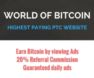 Earn Up To 600 satoshi Per Click- Sign up