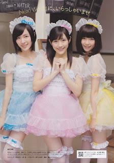 AKB48 X Weekly Playboy 2012 Matsui Jurina Watanabe Mayu Shimazaki Haruka