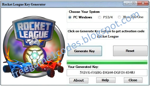 product key for rocket league