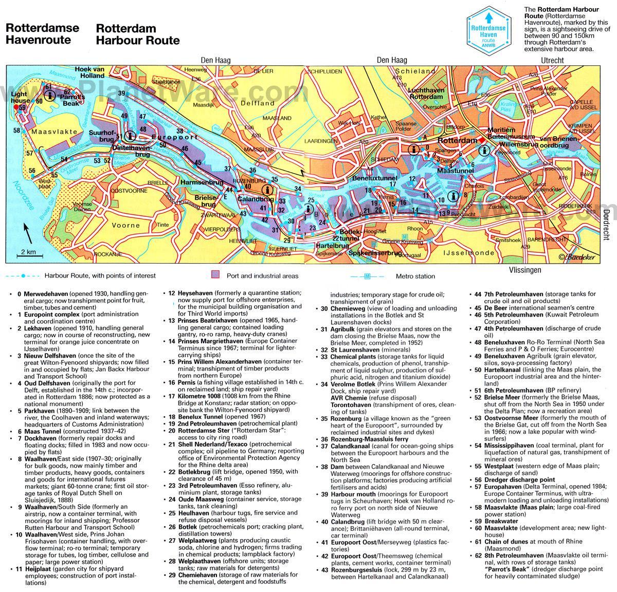 port of rotterdam map pdf
