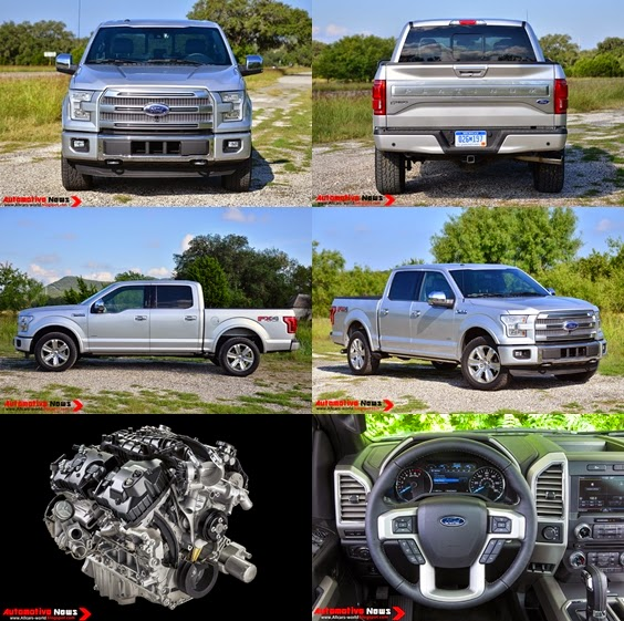 Automotive News 2015 Ford F 150 Review