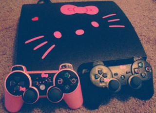 Hello Kitty Sony PS3 game console