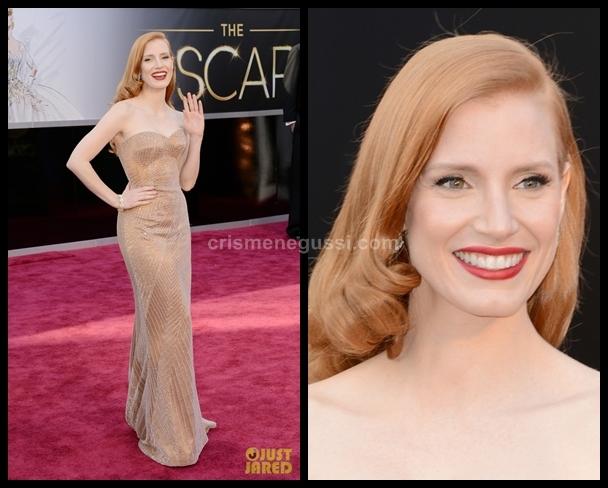 Maquiagem das atrizes no Oscar 2013