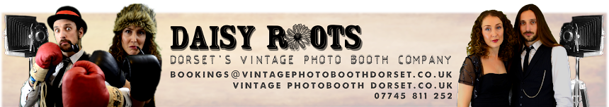 Daisy Roots Vintage Photo Booth Dorset