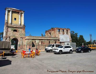 Богоявленно-Сергиевский храм одоев