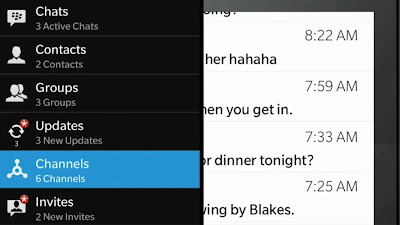 BlackBerry Rilis Jejaring Sosial Mirip Twitter