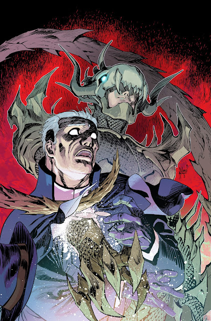 Making of the PHANTOM STRANGER 15 cover by Guillem March