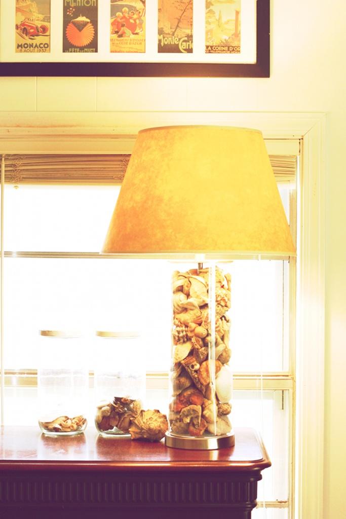 semi diy fillable lamp