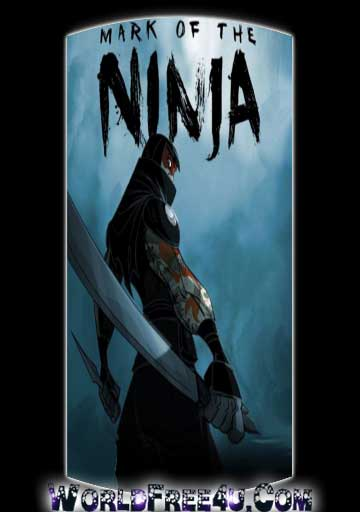 Cover Of Mark of the Ninja Full Latest Version PC Game Free Download Mediafire Links At worldfree4u.com