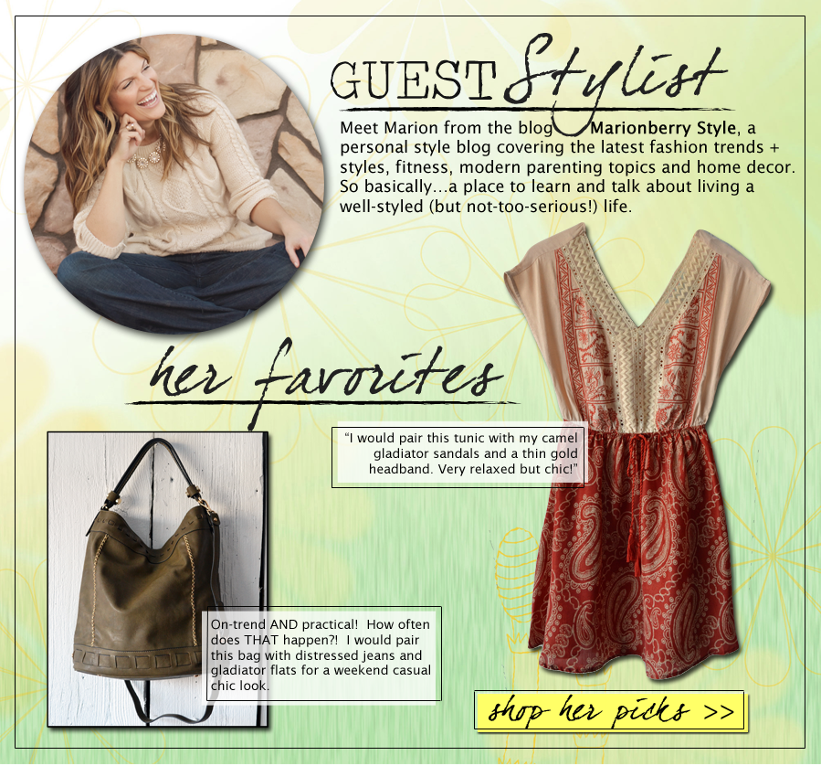 Marionberry Style | May Guest Stylist for shopgracieb.com