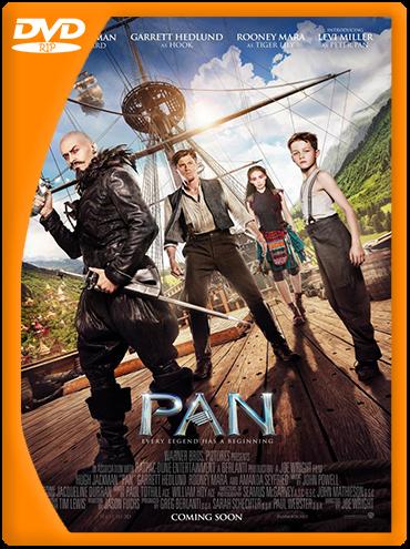 Pan: Viaje a Nunca Jamás (2015) DVDRip Latino