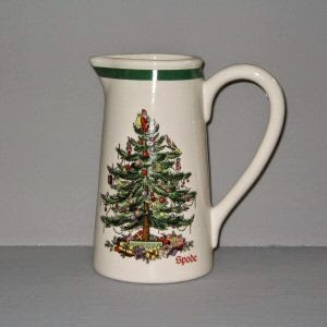 Spode Christmas Pitcher