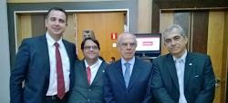 Rodrigo Pacheco, Carlos Rafael, Márcio Thomaz Bastos e Adilson Rocha