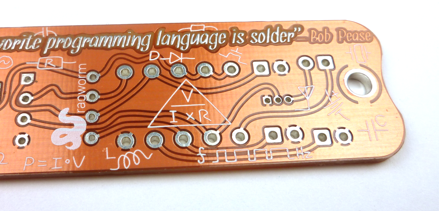 So You Want To Manufacture Your Printed Circuit Board Boldport Boards More Canvas Art Pillow An Early Prototpe Of Educational Made By Ragworm Notice The Randomly Placed Logo And Name Added Design
