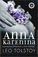 Penguin paperback cover of Anna Karenina by Leo Tolstoy