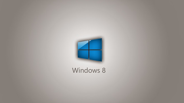 Grauen Windows 8 wallpaper