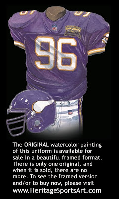Minnesota Vikings 2000 uniform
