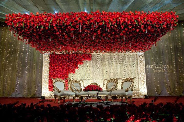 Welcome To Magic Bangla WEDDING STAGE DECORATION IDEAS